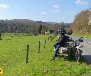 Découverte de la Suisse Normande à moto