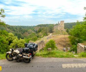 Road trip à moto dans le Berry et le Val de Creuse, notre repérage de l'itinéraire