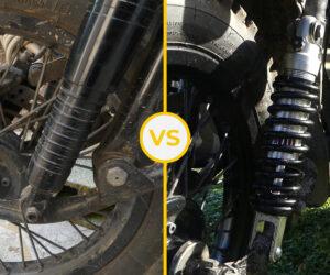 Amortisseurs pour side-car Ural: notre comparatif Fournalès / Shock Factory
